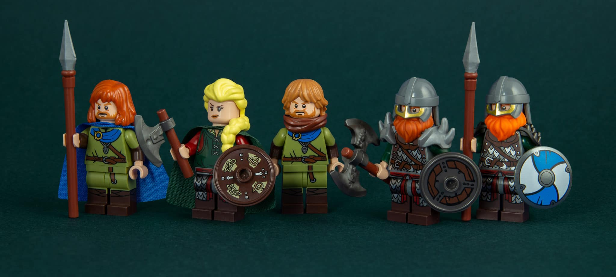 Viking Minifigures Crew 2500