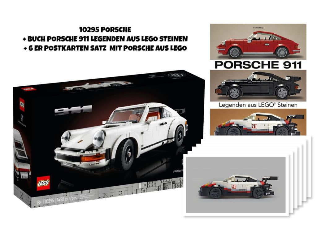 648653959 LEGO Porsche 911 Paket Inkl Buch Und Postkarten Set