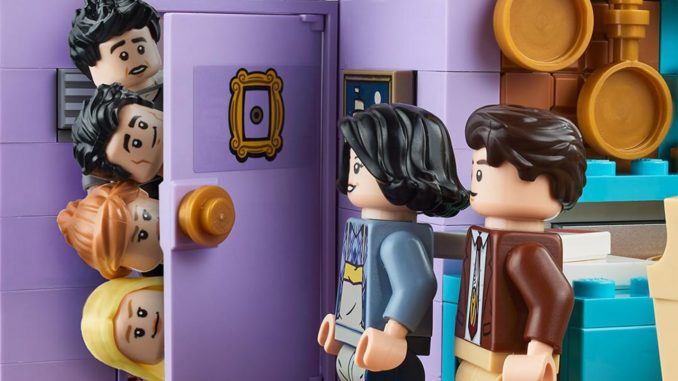 LEGO 10292 Friends Monicas Und Rachels Apartment