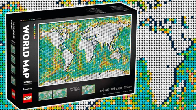 LEGO 31203 Weltkarte Titelbild