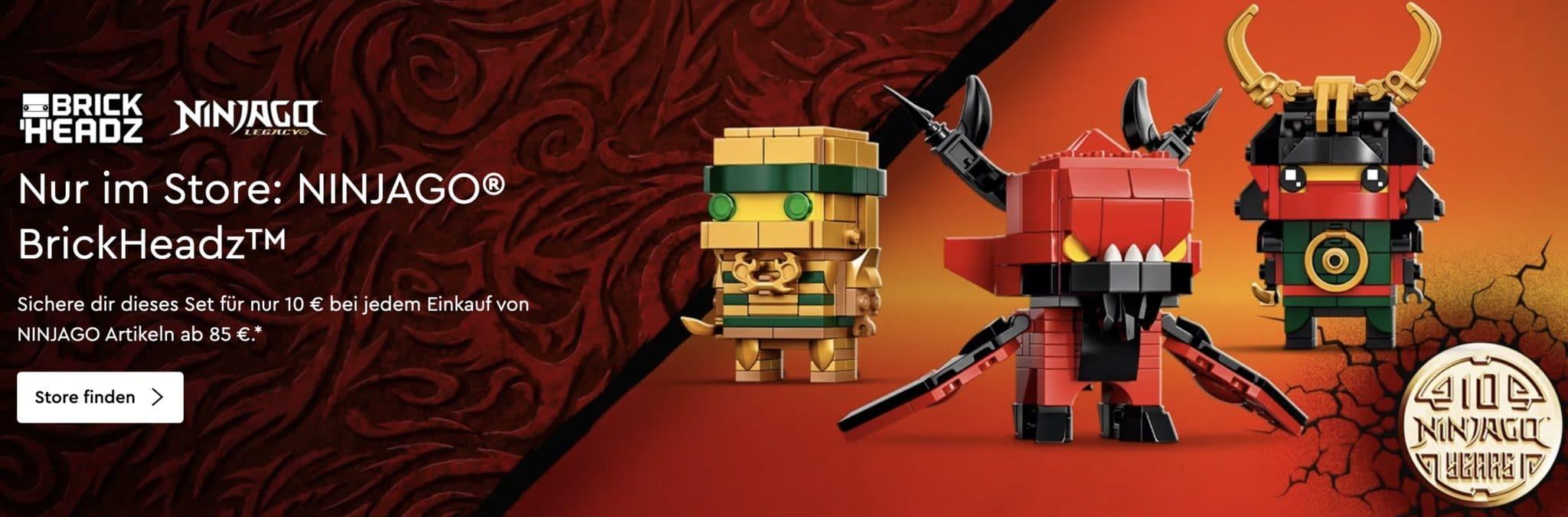 LEGO 40490 Ninjago Brickheadz Aktion
