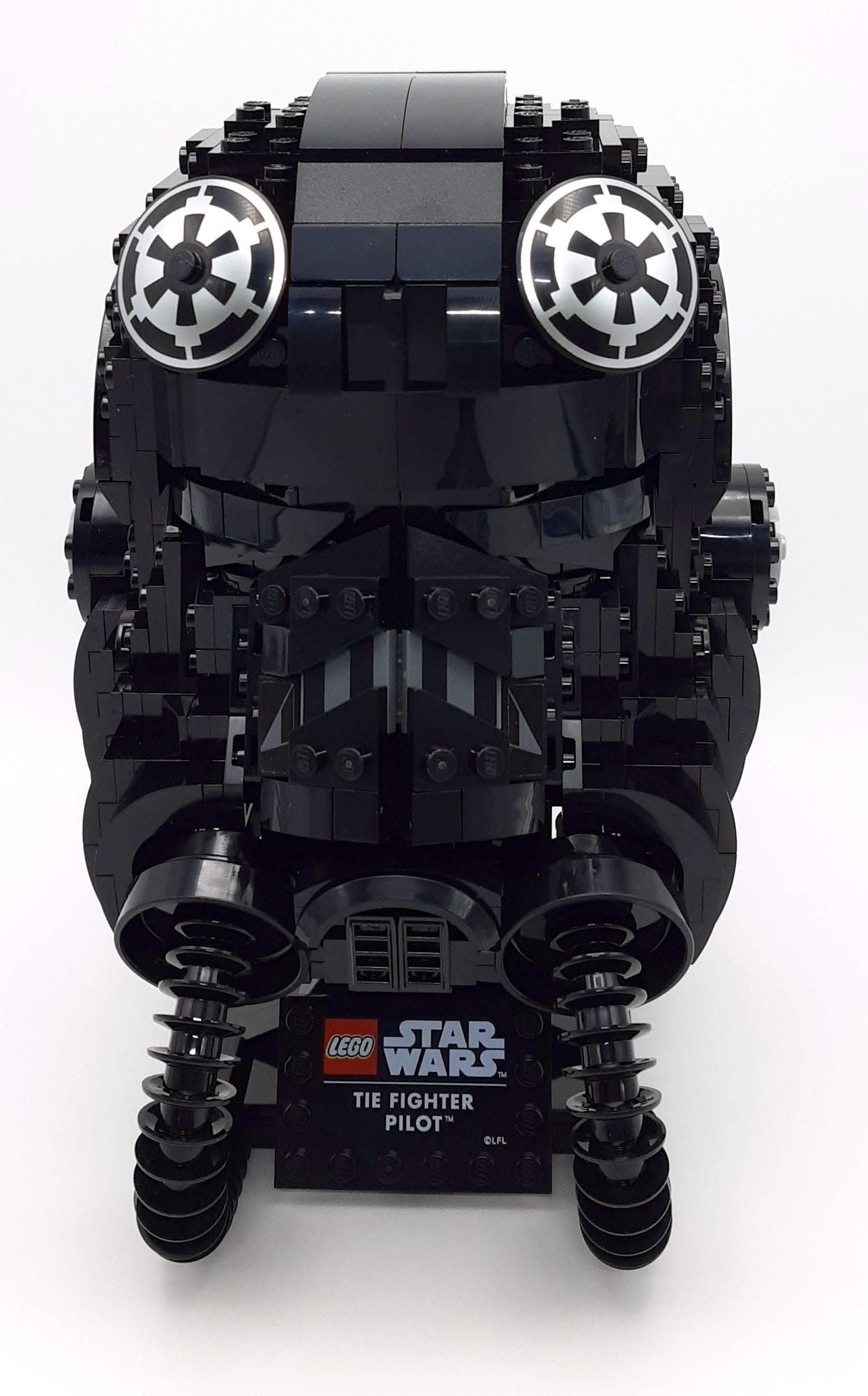 LEGO 75274 Tie Fighter Pilot Helm 1