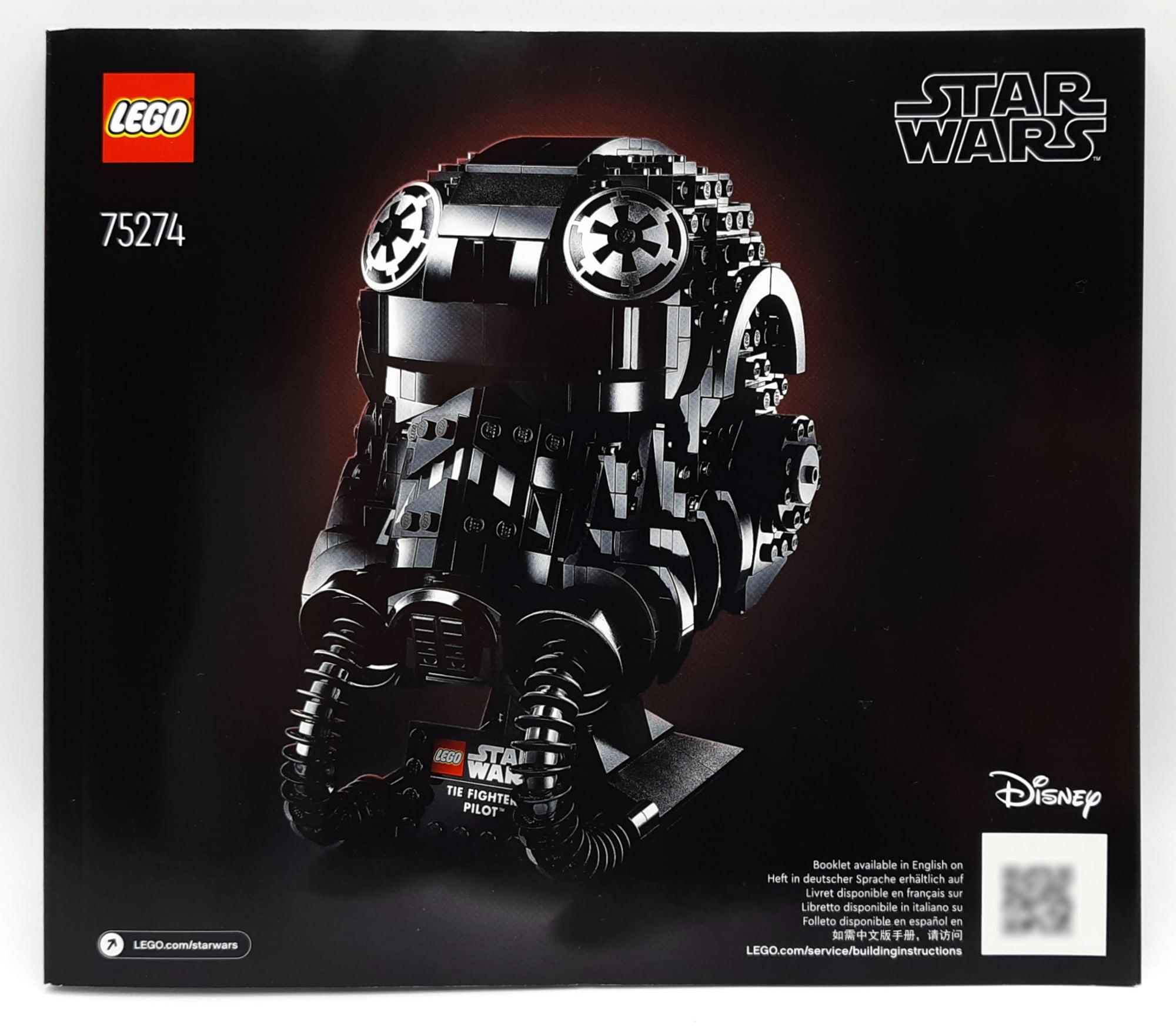 LEGO 75274 Tie Fighter Pilot Helm Anleitung 1