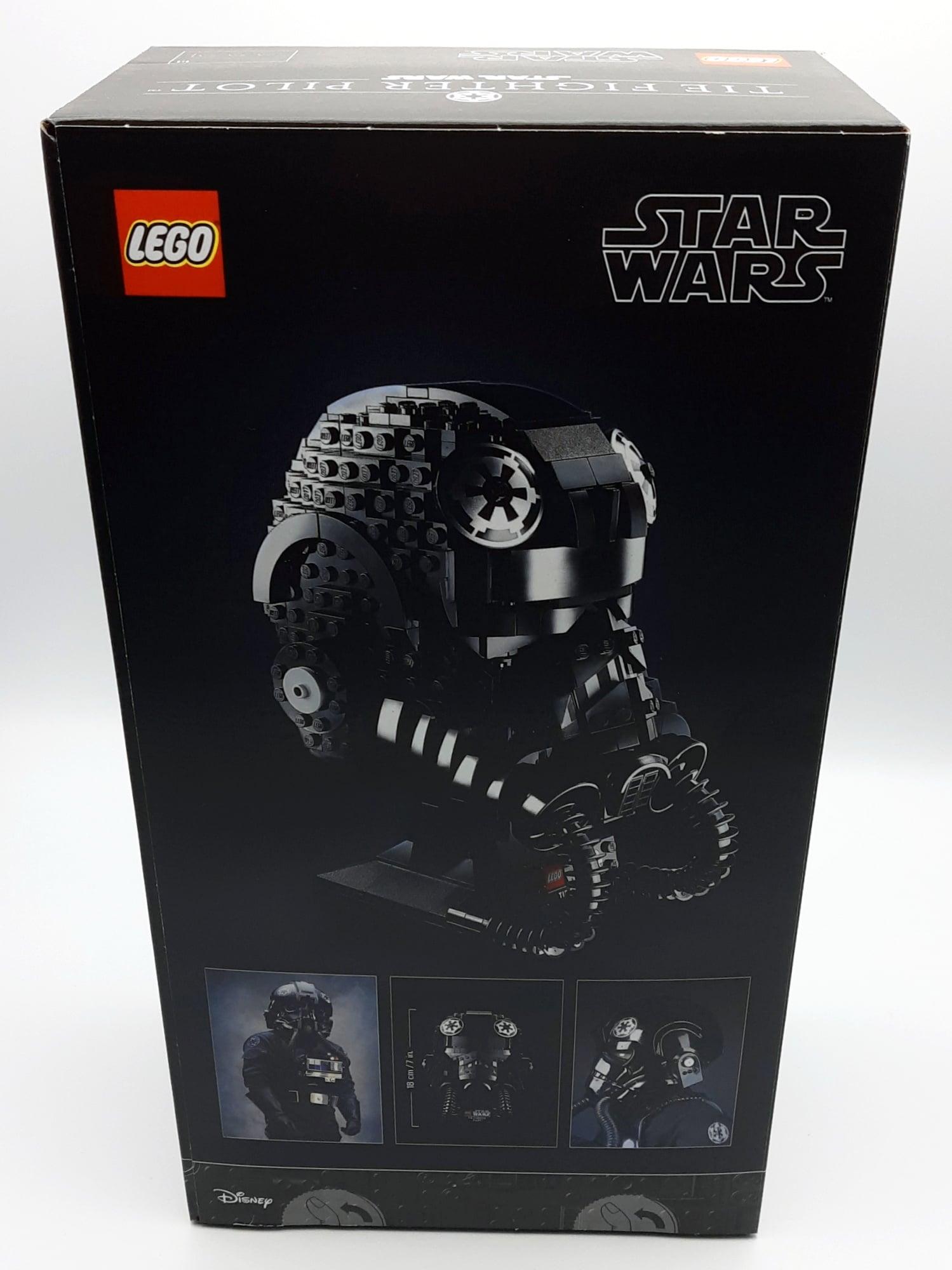 LEGO 75274 Tie Fighter Pilot Helm Box Hinten