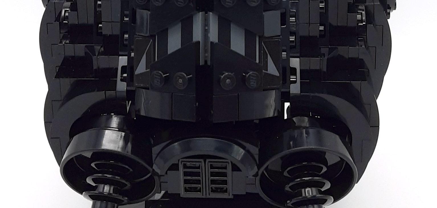 LEGO 75274 Tie Fighter Pilot Helm Detail Lücke