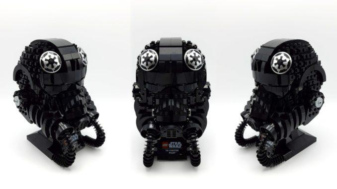 LEGO 75274 Tie Fighter Pilot Helm Titel