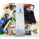 LEGO 75274 Tie Fighter Pilot Helm Tüten 1