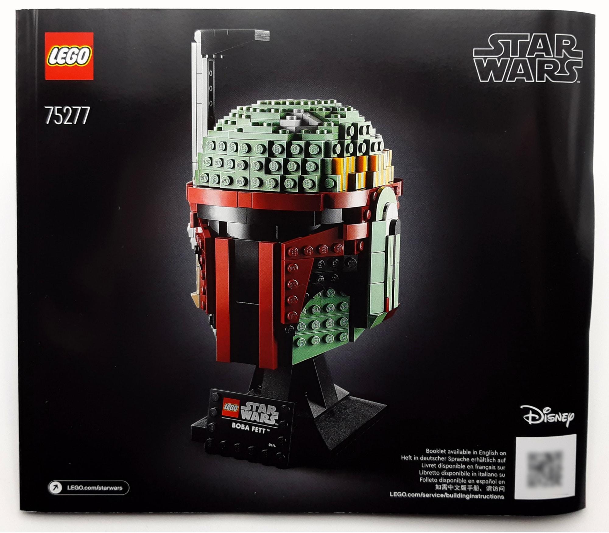 LEGO 75277 Boba Fett Helm Anleitung 1