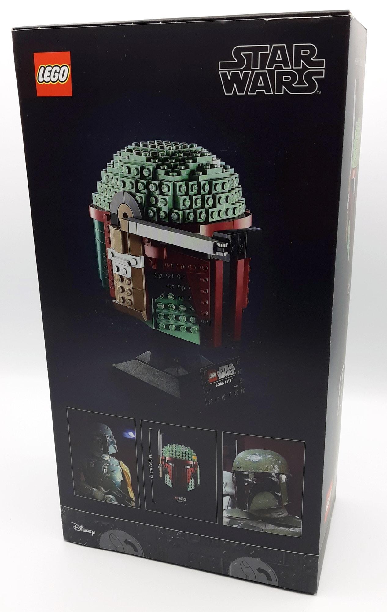 LEGO 75277 Boba Fett Helm Box Hinten