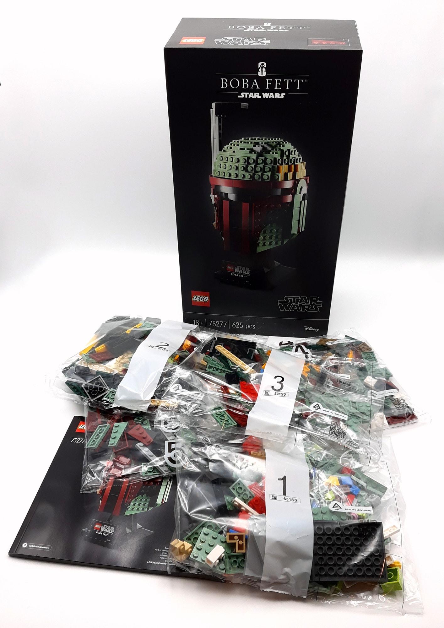 LEGO 75277 Boba Fett Helm Box Inhalt