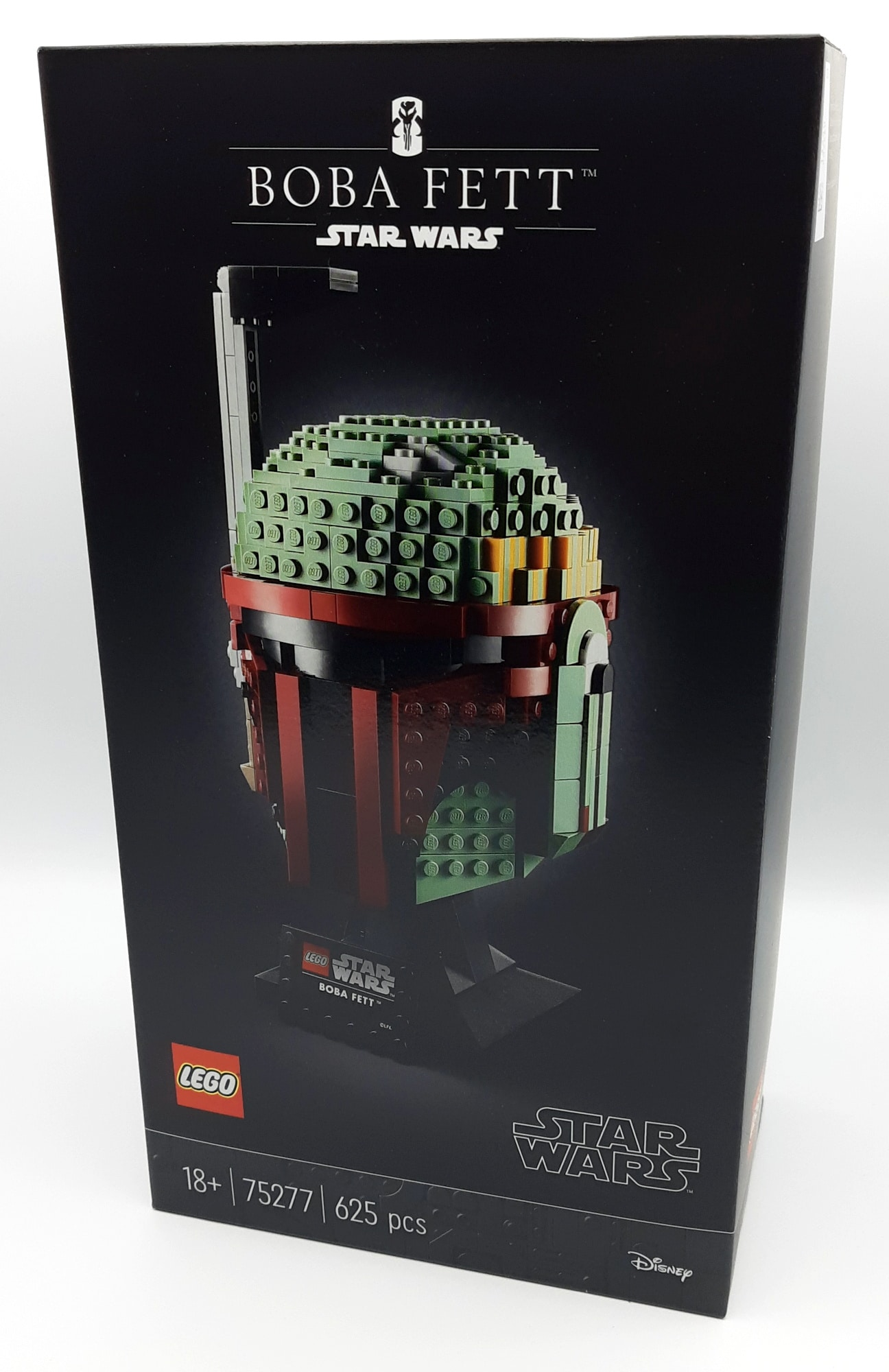 LEGO 75277 Boba Fett Helm Box Vorne