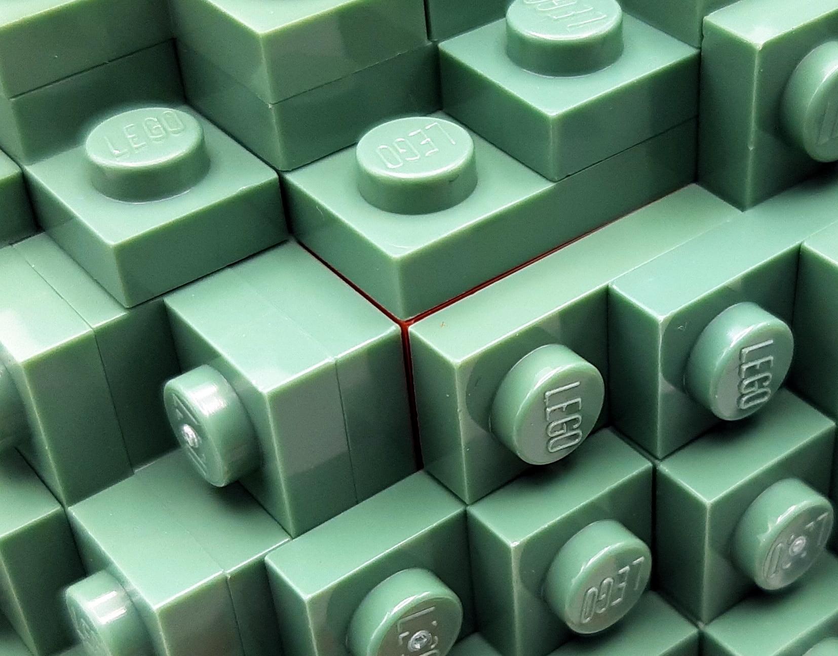 LEGO 75277 Boba Fett Helm Detail Bunte Konstruktion