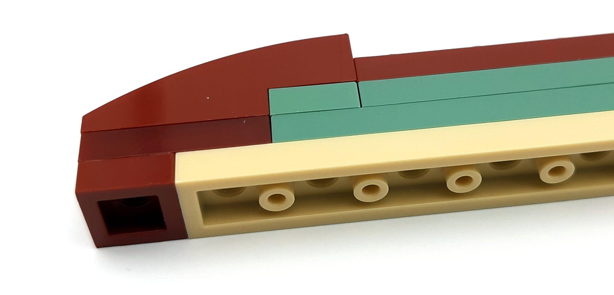 LEGO 75277 Boba Fett Helm Detail Farbabweichungen