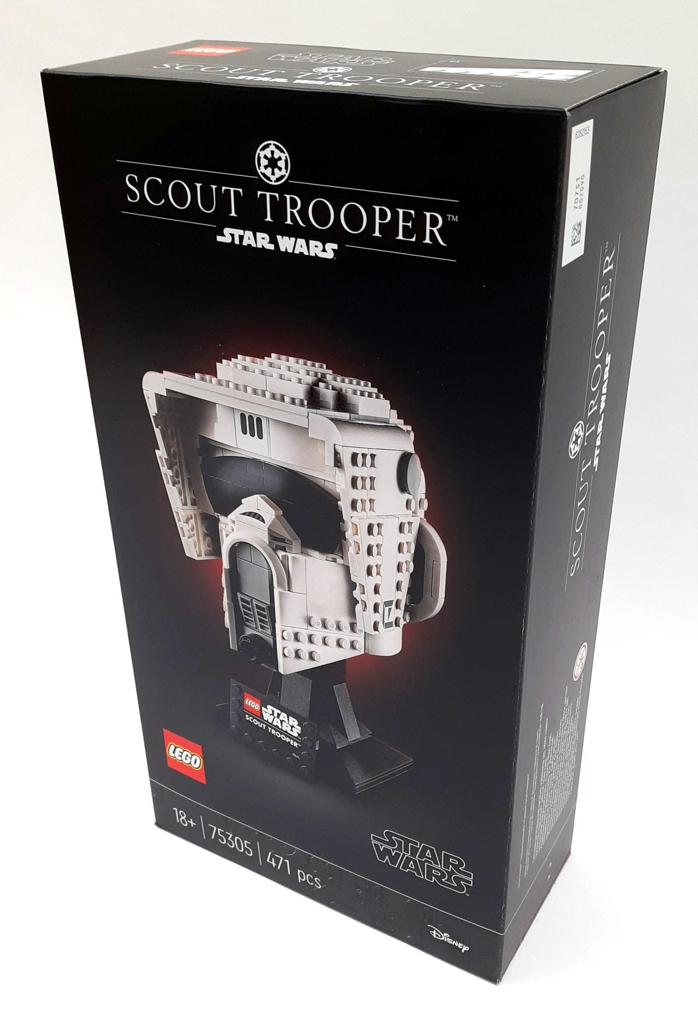 LEGO 75305 Scout Trooper Helm Box Vorne