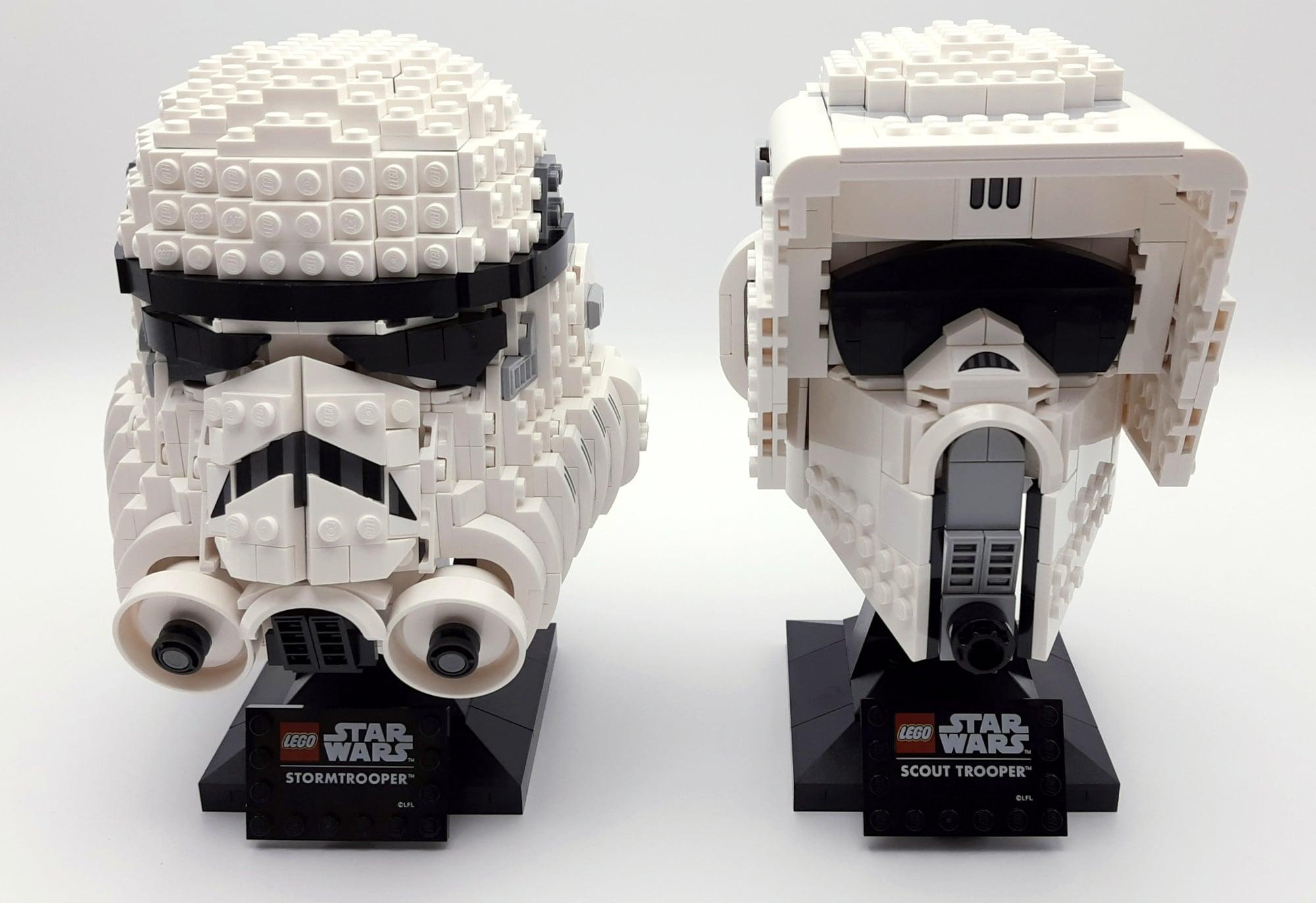 LEGO 75305 Scout Trooper Helm Vergleich Stormtrooper