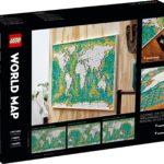 LEGO Art 31203 Weltkarte 8