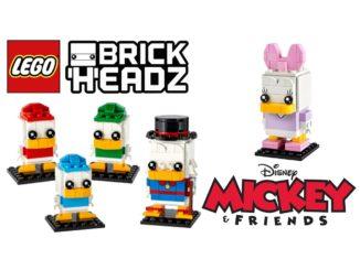 LEGO Brickheadz 40476 40477 Daisy Dagobert Tick Trick Track