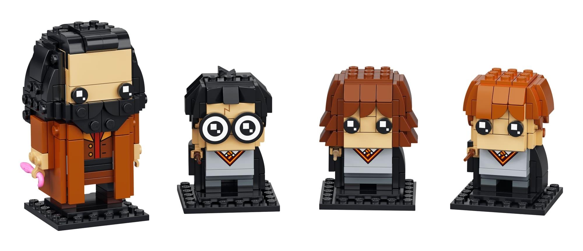 LEGO Brickheadz 40495 Harry, Hermine, Ron & Hagrid 1