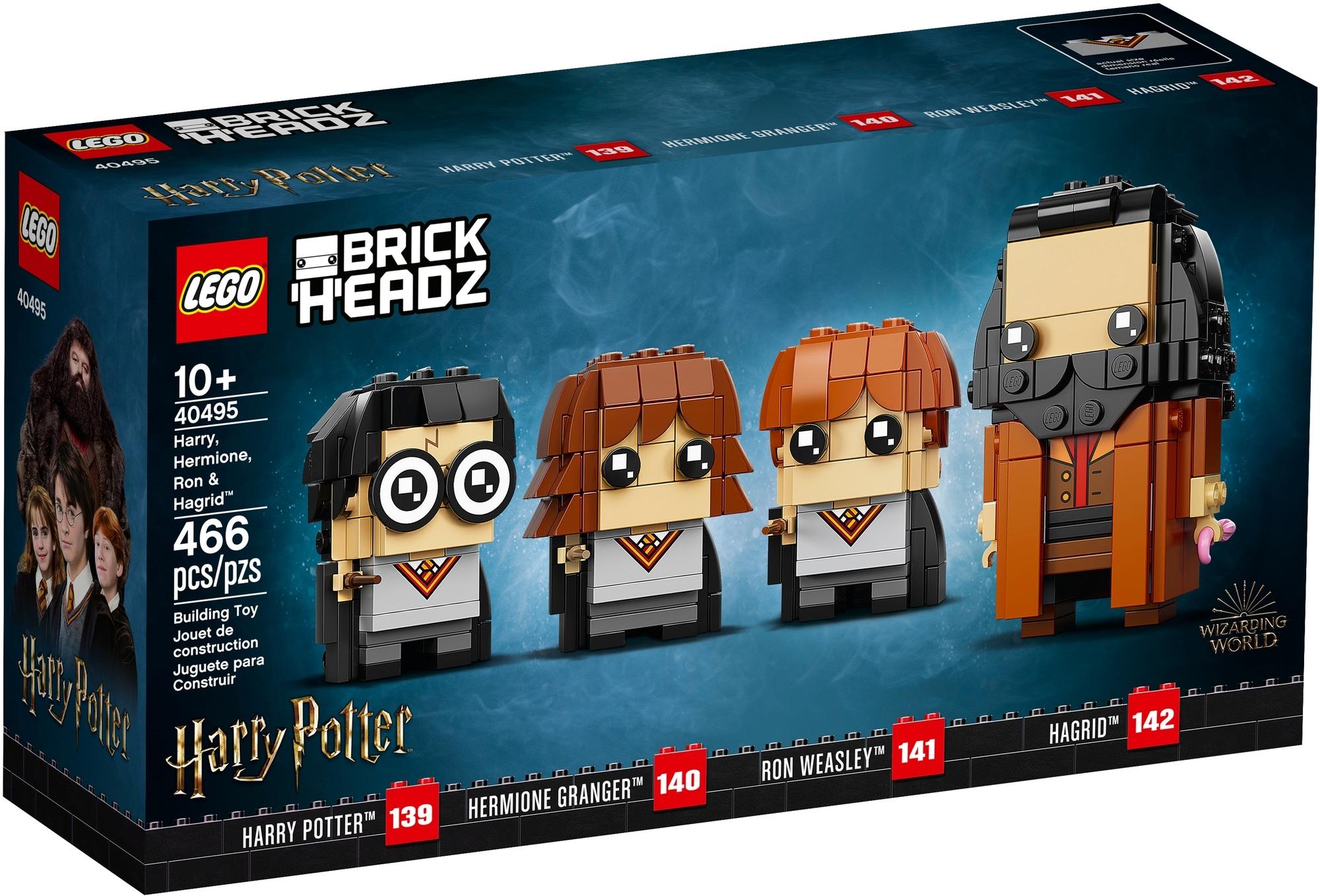 LEGO Brickheadz 40495 Harry, Hermine, Ron & Hagrid 2