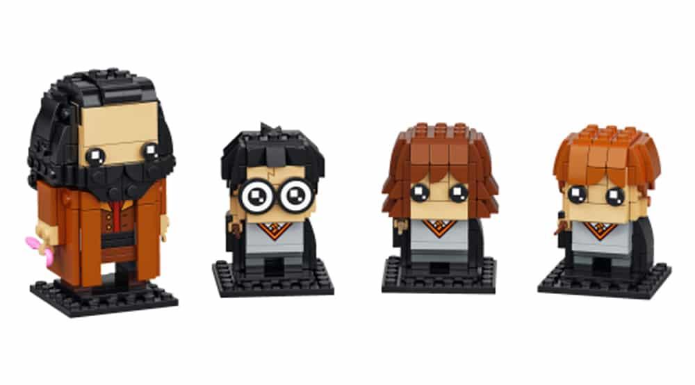 LEGO Brickheadz 40495 Harry Hermine Ron Und Hagrid