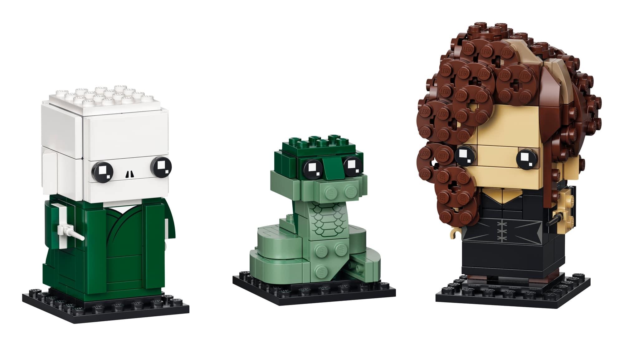 LEGO Brickheadz 40496 Voldemort, Nagini & Bellatrix 1