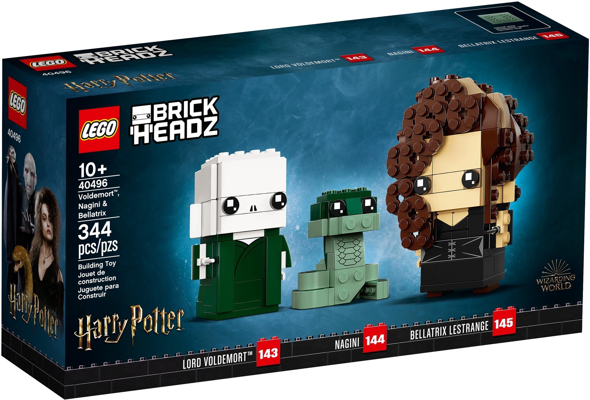 LEGO Brickheadz 40496 Voldemort, Nagini & Bellatrix 2