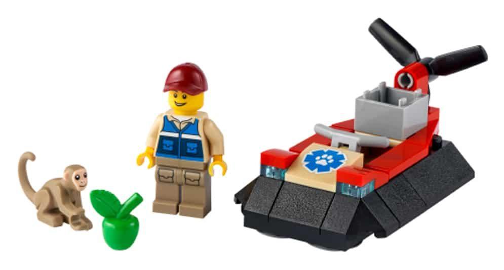 LEGO City 30570 Luftkissenboot Für Tierrettungen