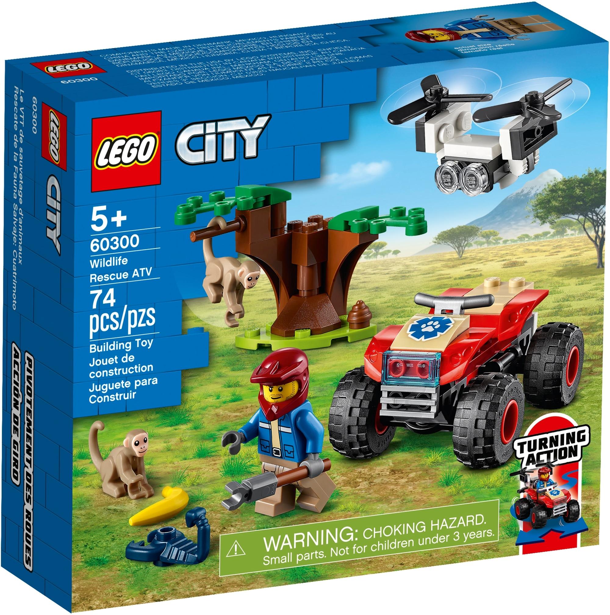 LEGO City 60300 Tierrettungs Quad 2