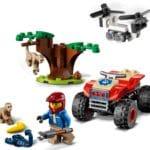 LEGO City 60300 Tierrettungs Quad 3