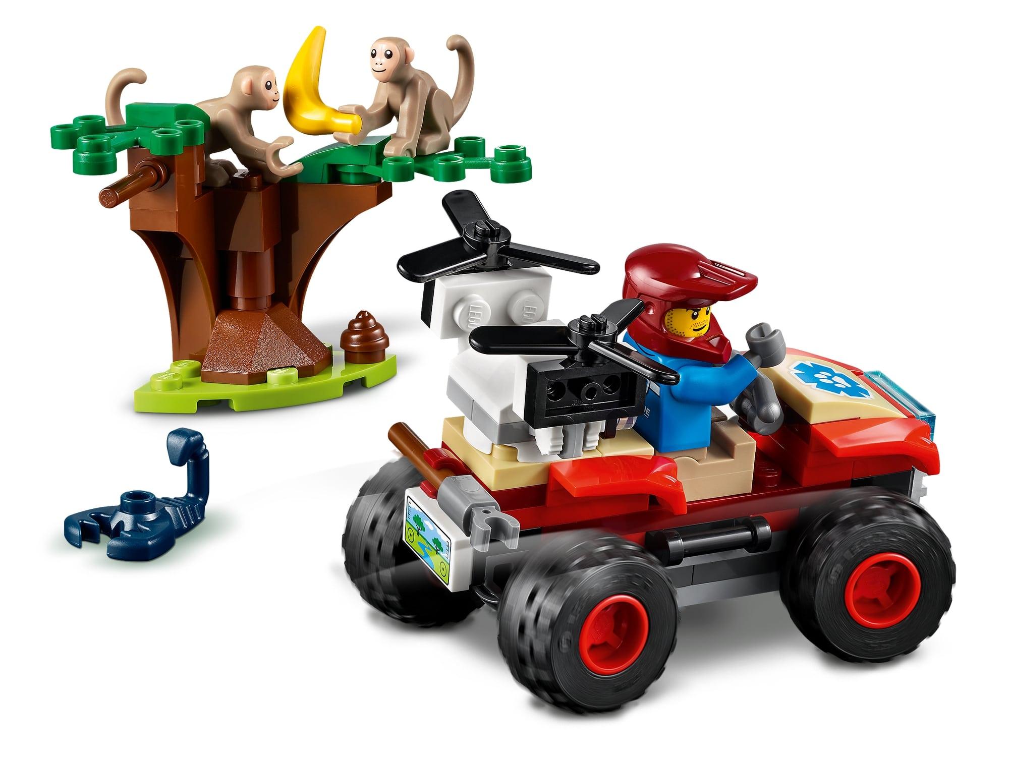LEGO City 60300 Tierrettungs Quad 4