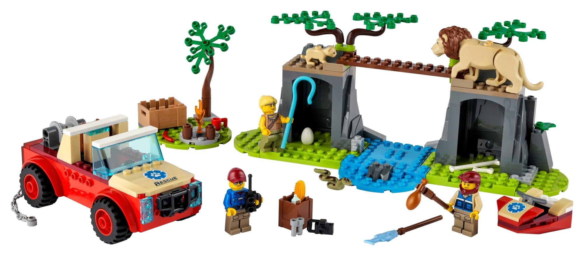 LEGO City 60301 Tierrettungs Geländewagen 1