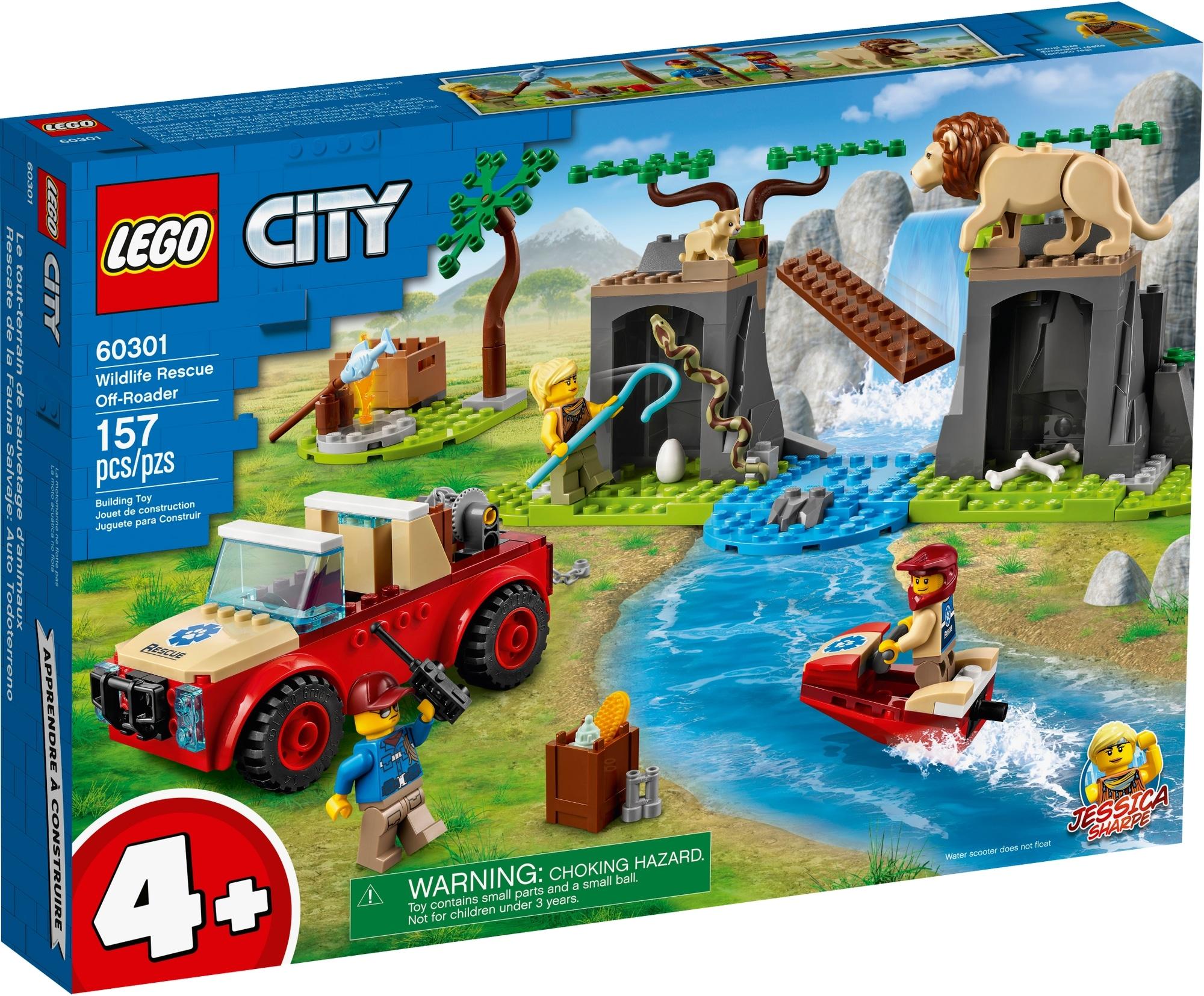 LEGO City 60301 Tierrettungs Geländewagen 2