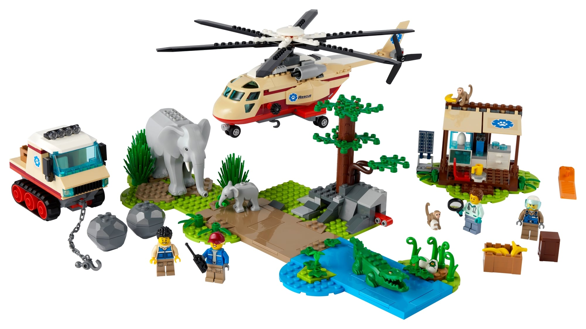 LEGO City 60302 Tierrettungseinsatz 1