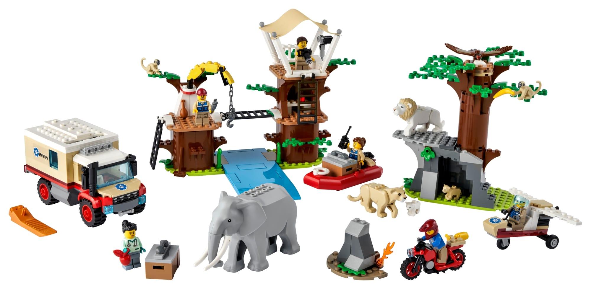 LEGO City 60307 Tierrettungscamp 1