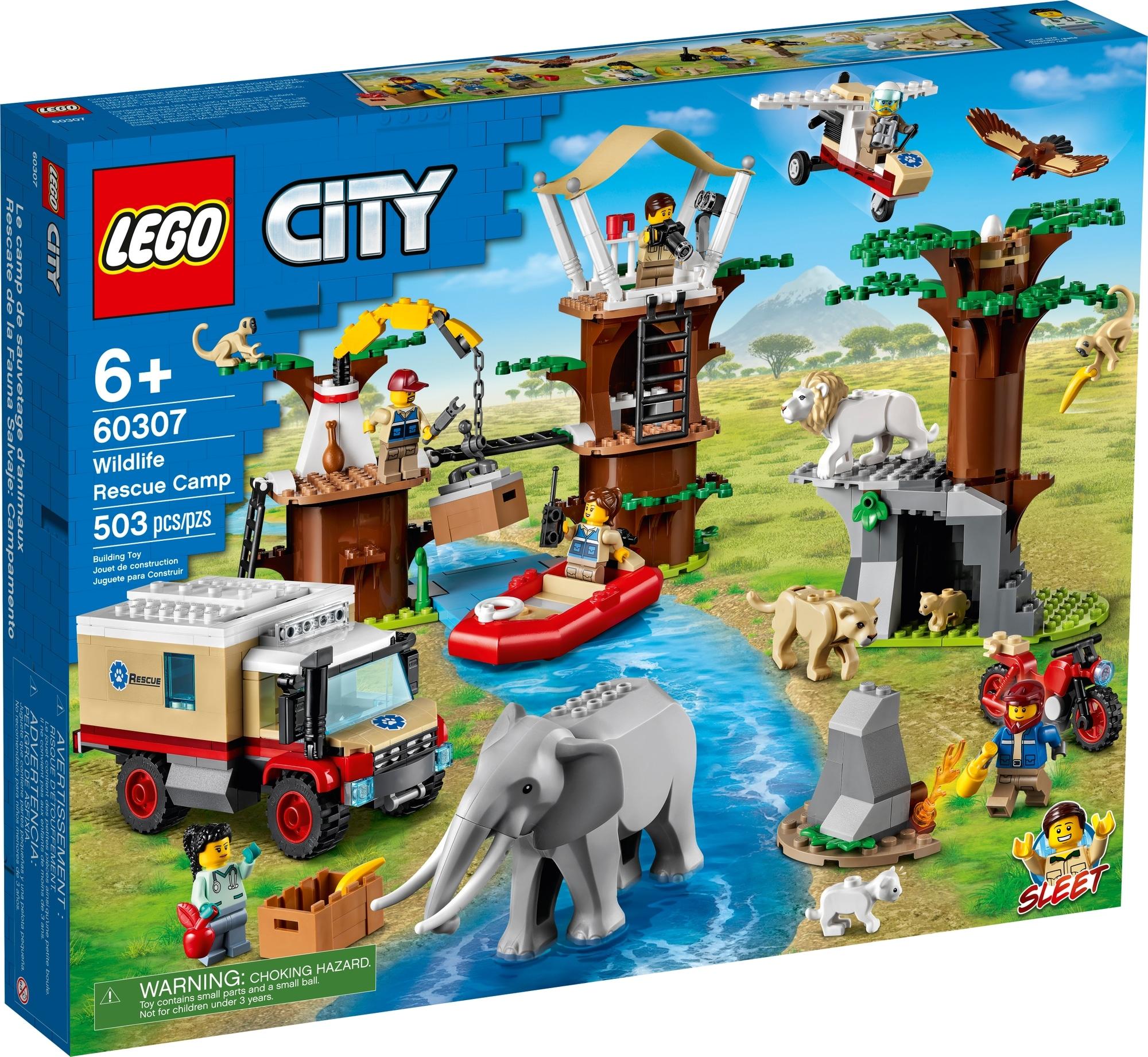LEGO City 60307 Tierrettungscamp 2