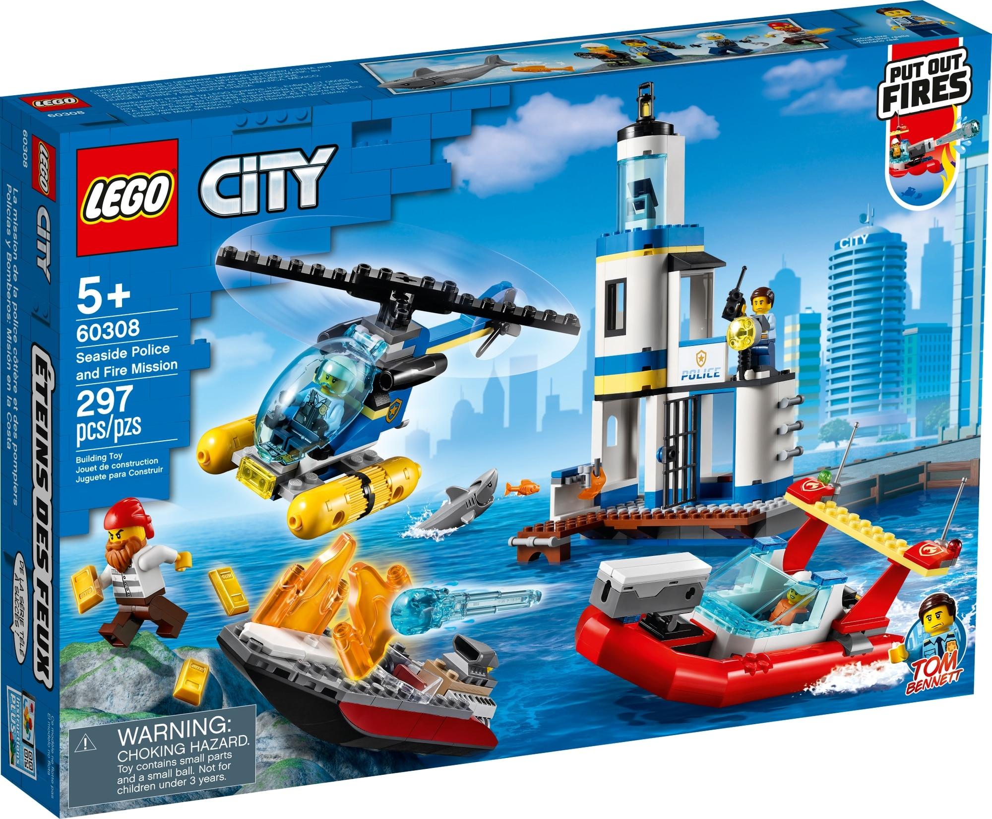 LEGO City 60308 Polizei Und Feuerwehr Im Küsteneinsatz 2
