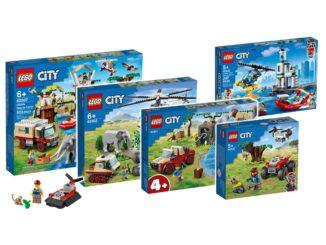 LEGO City Tierrettung Juni 2021 Update Titel