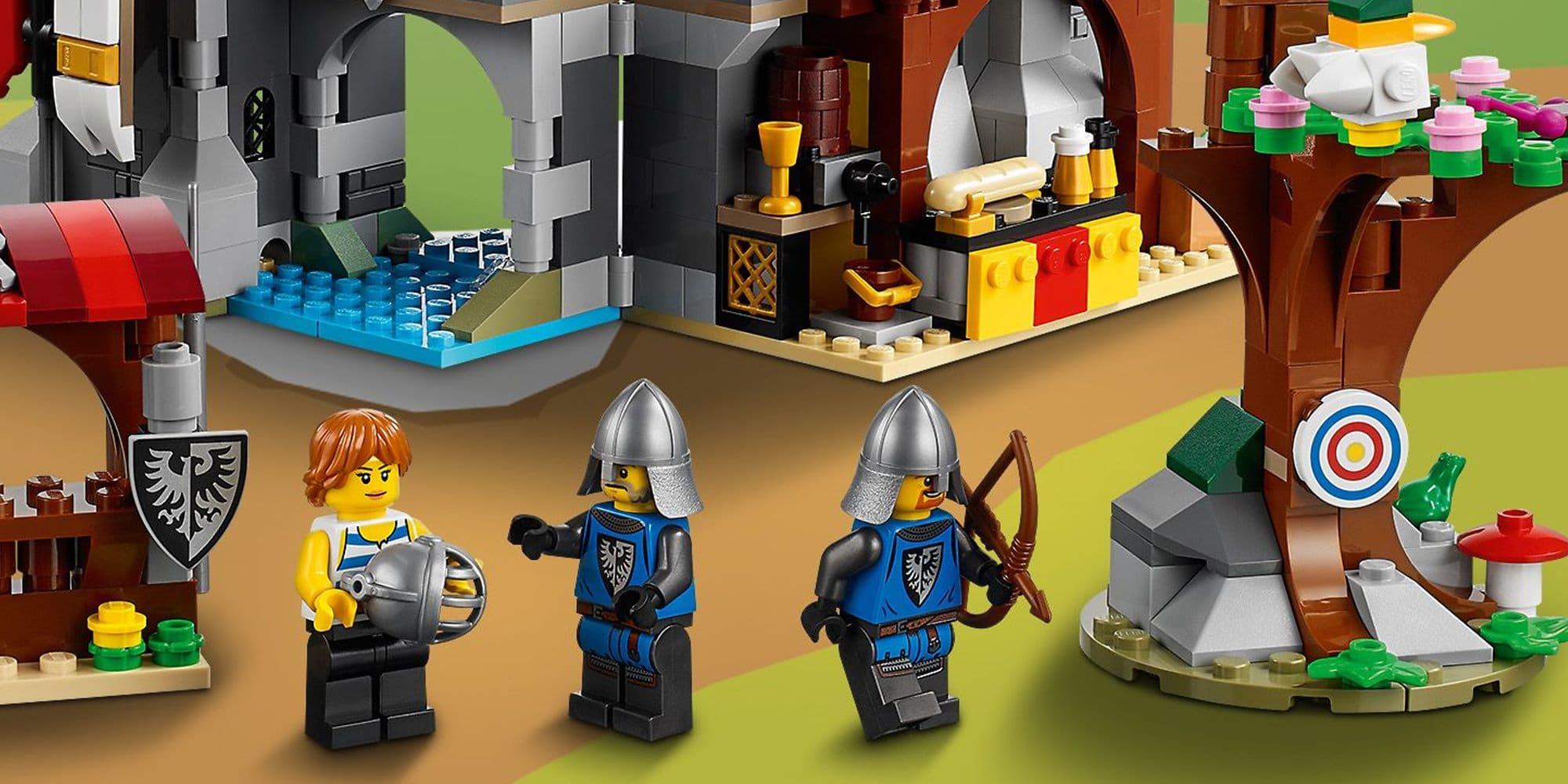 LEGO Creator 31120 Mittelalterliche Burg Details 1