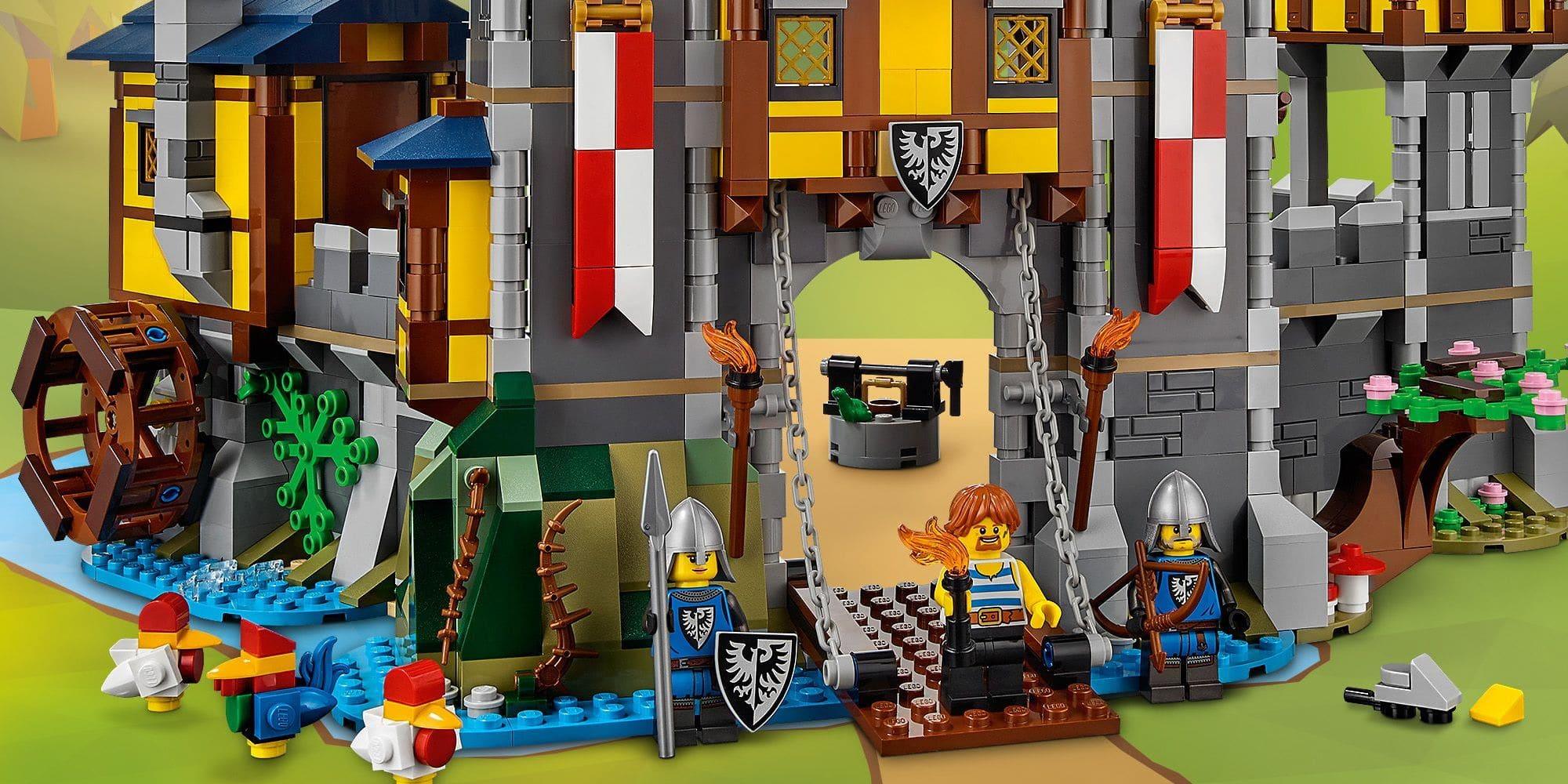 LEGO Creator 31120 Mittelalterliche Burg Details 2