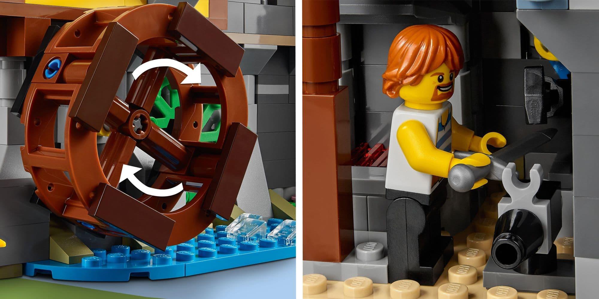 LEGO Creator 31120 Mittelalterliche Burg Details 3