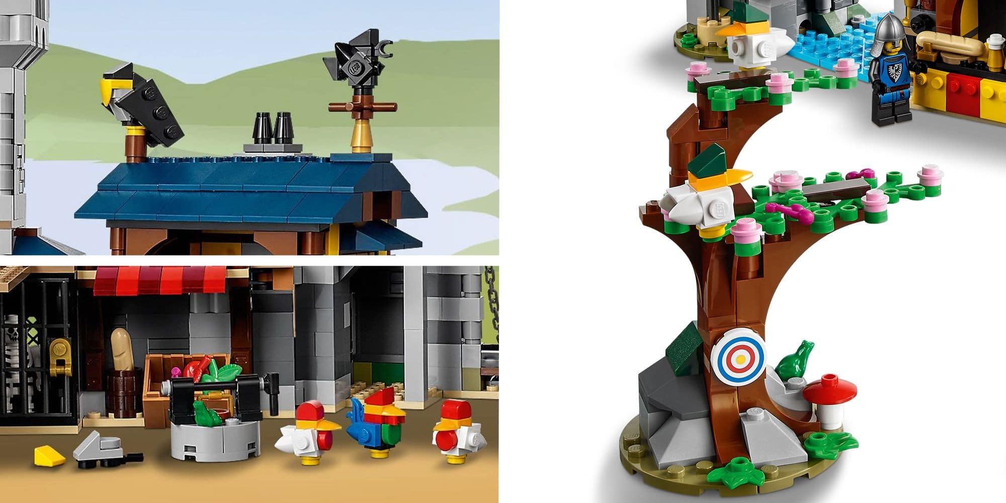 LEGO Creator 31120 Mittelalterliche Burg Details 4