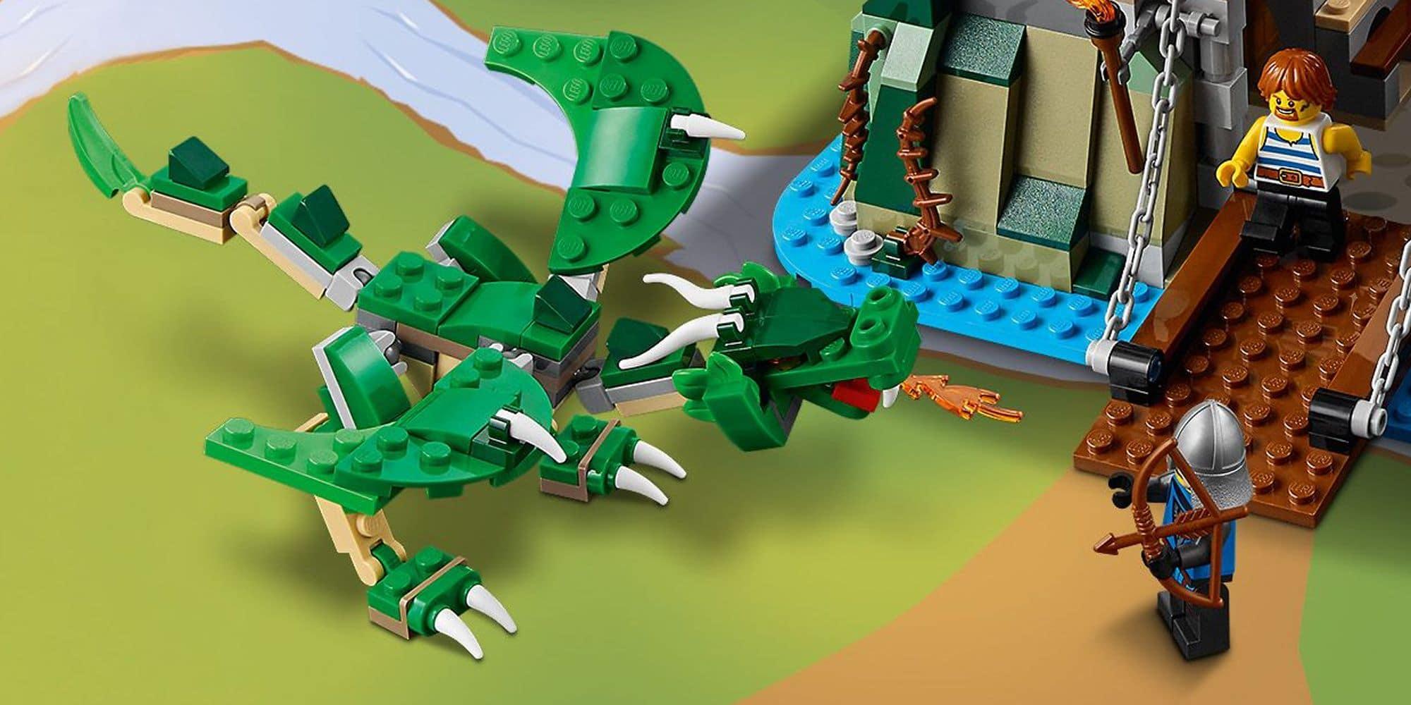 LEGO Creator 31120 Mittelalterliche Burg Details 5