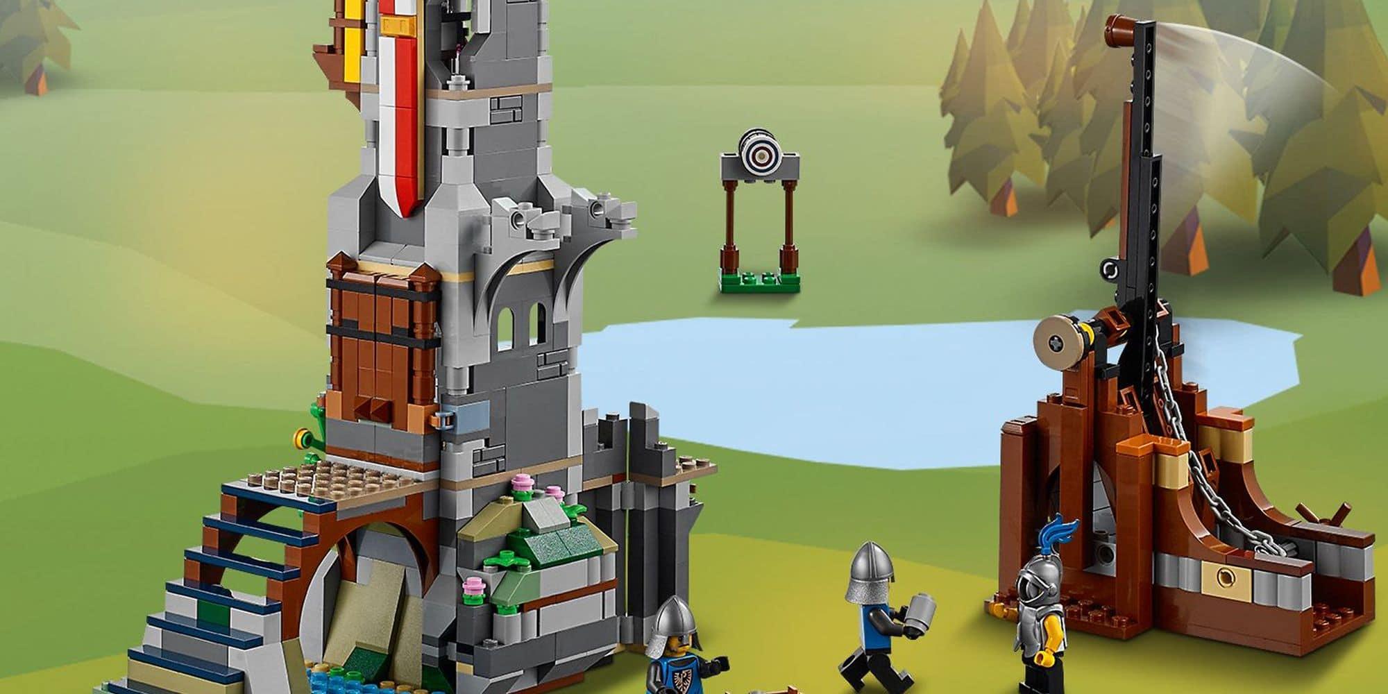 LEGO Creator 31120 Mittelalterliche Burg Details 8