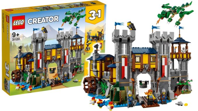 LEGO Creator 31120 Große Ritterburg Titel