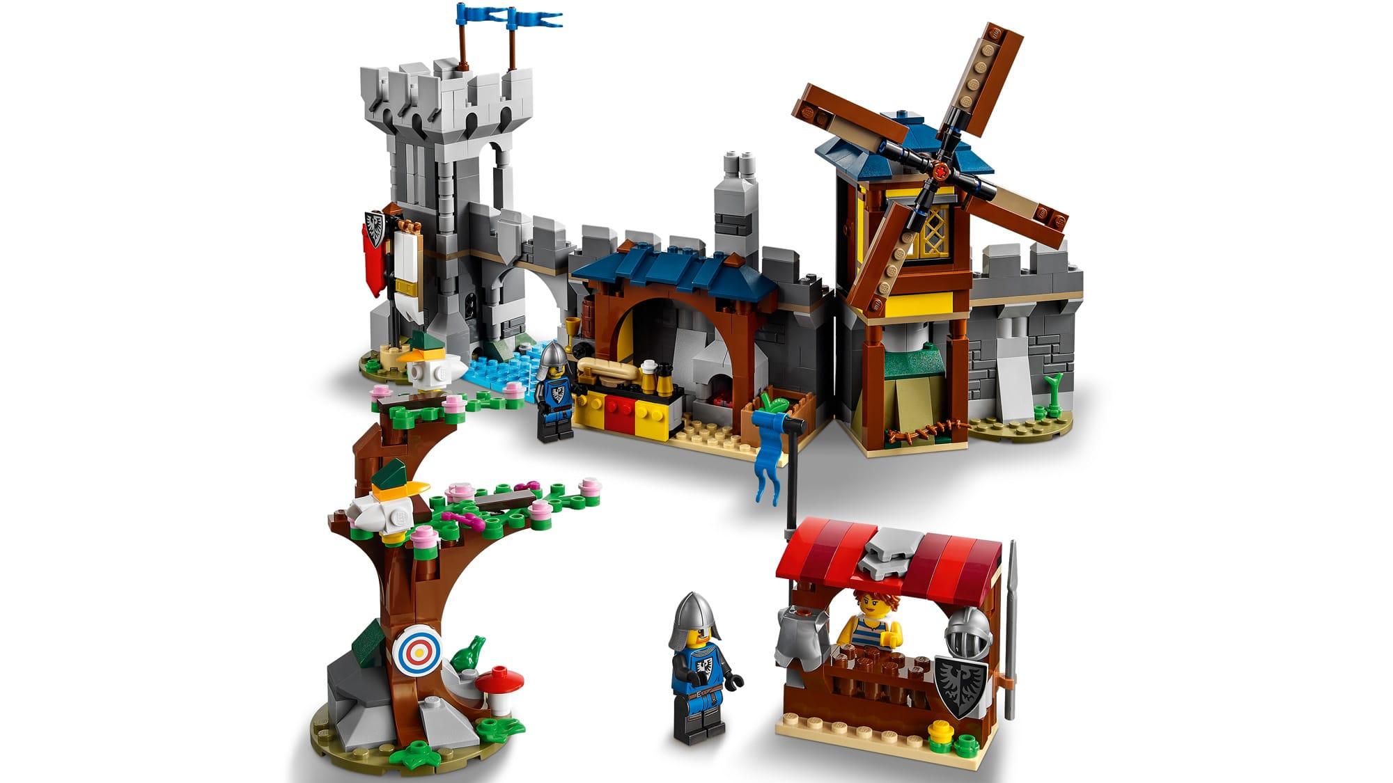 LEGO Creator 31120 Mittelalterliche Burg 16