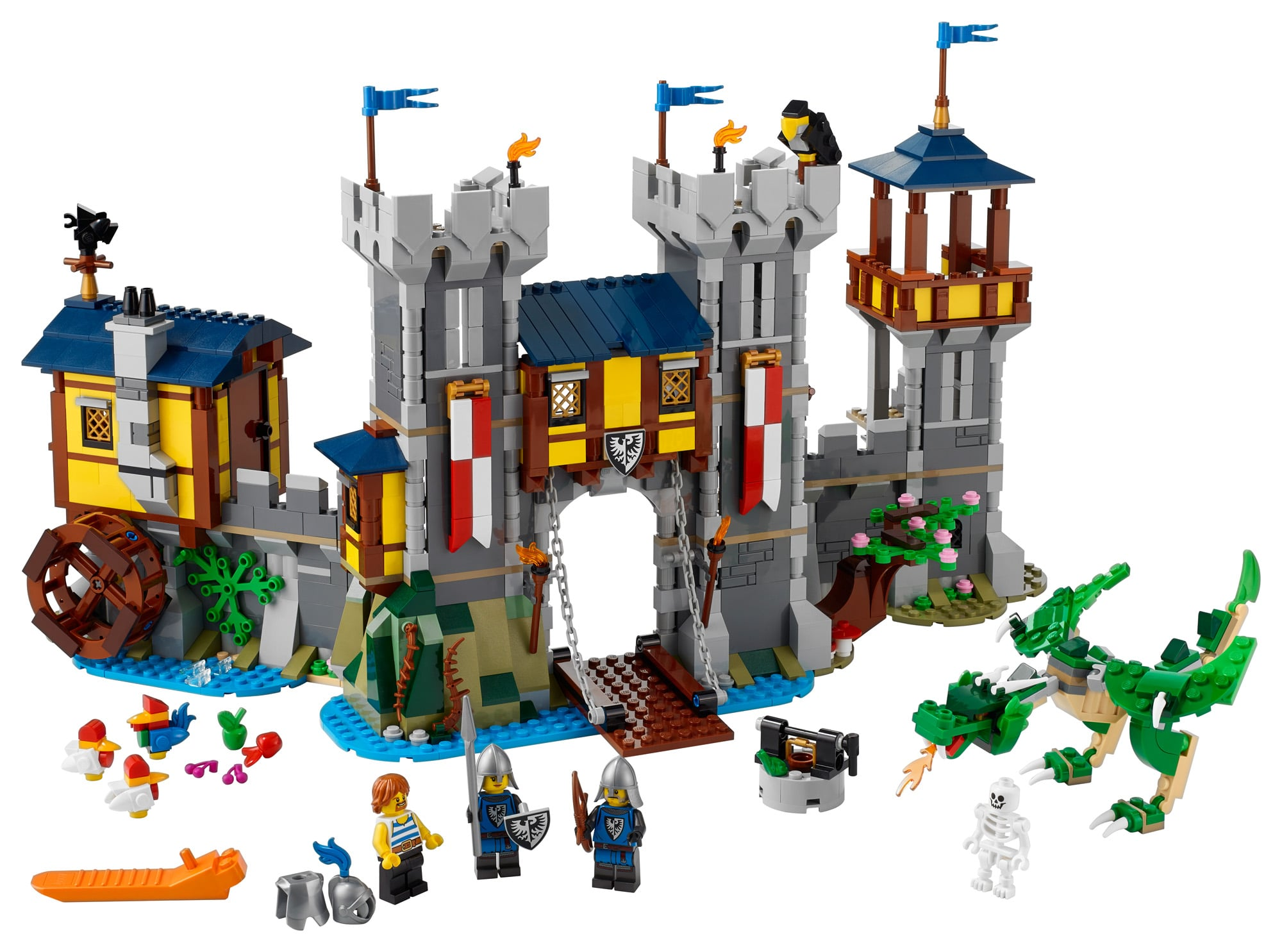 LEGO Creator 31120 Mittelalterliche Burg 26