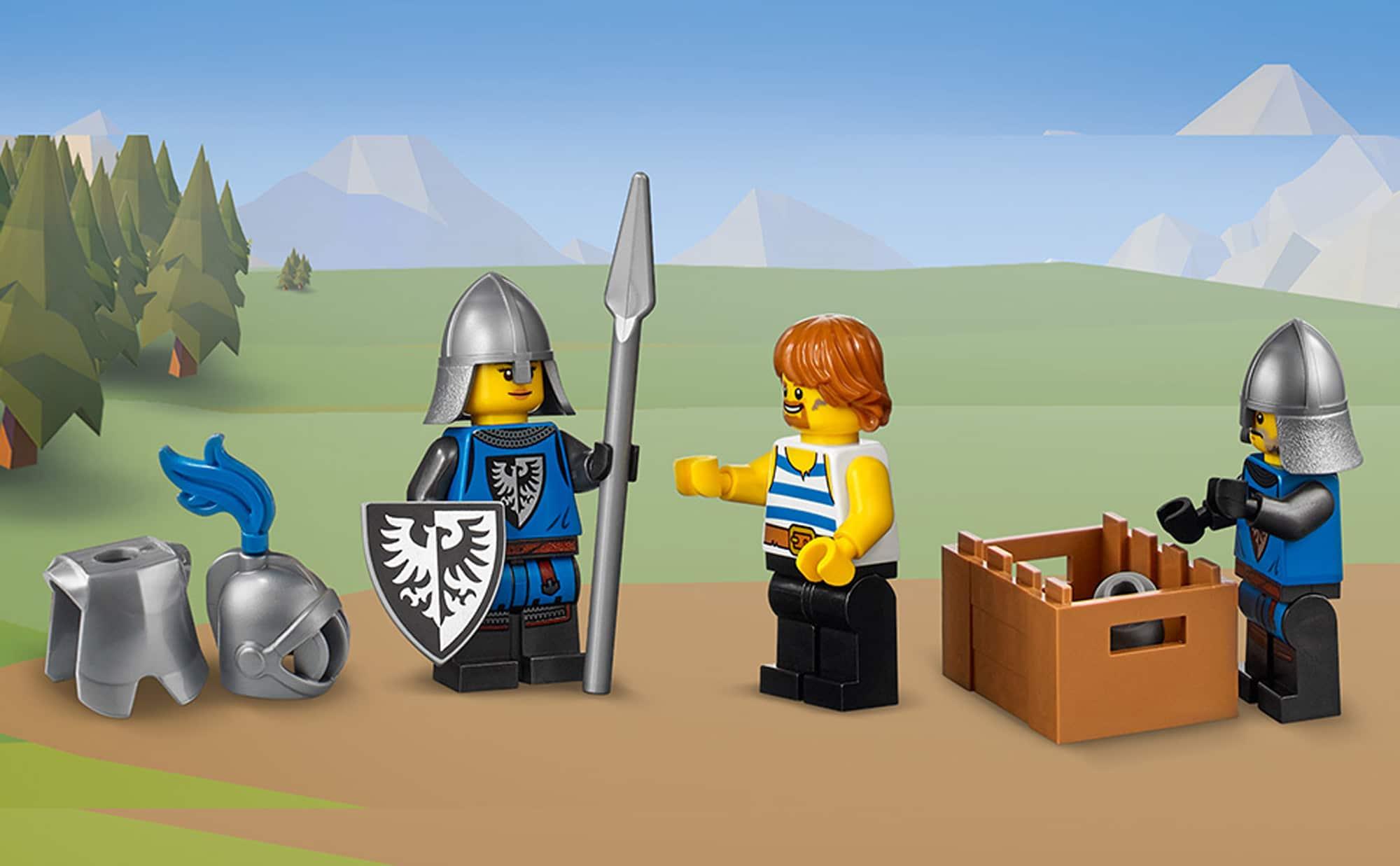 LEGO Creator 31120 Mittelalterliche Burg 38