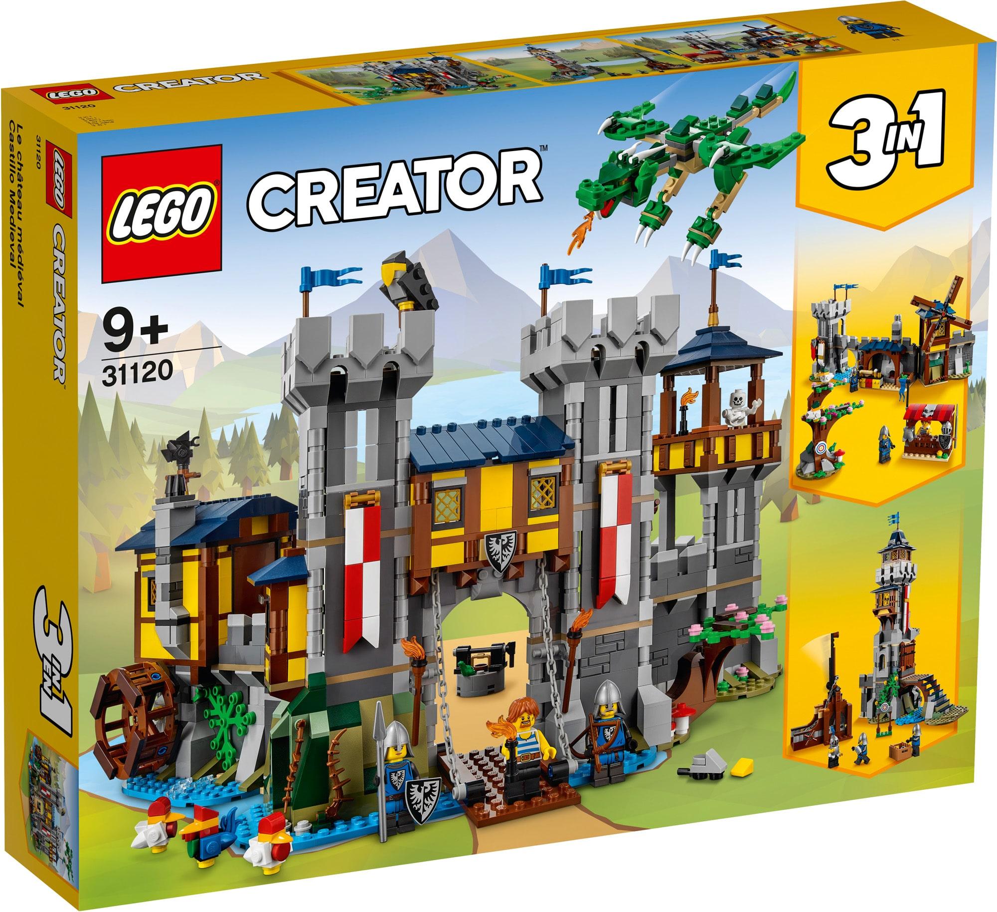 LEGO Creator 31120 Mittelalterliche Burg 4