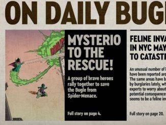 LEGO Daily Bugle Update Titel