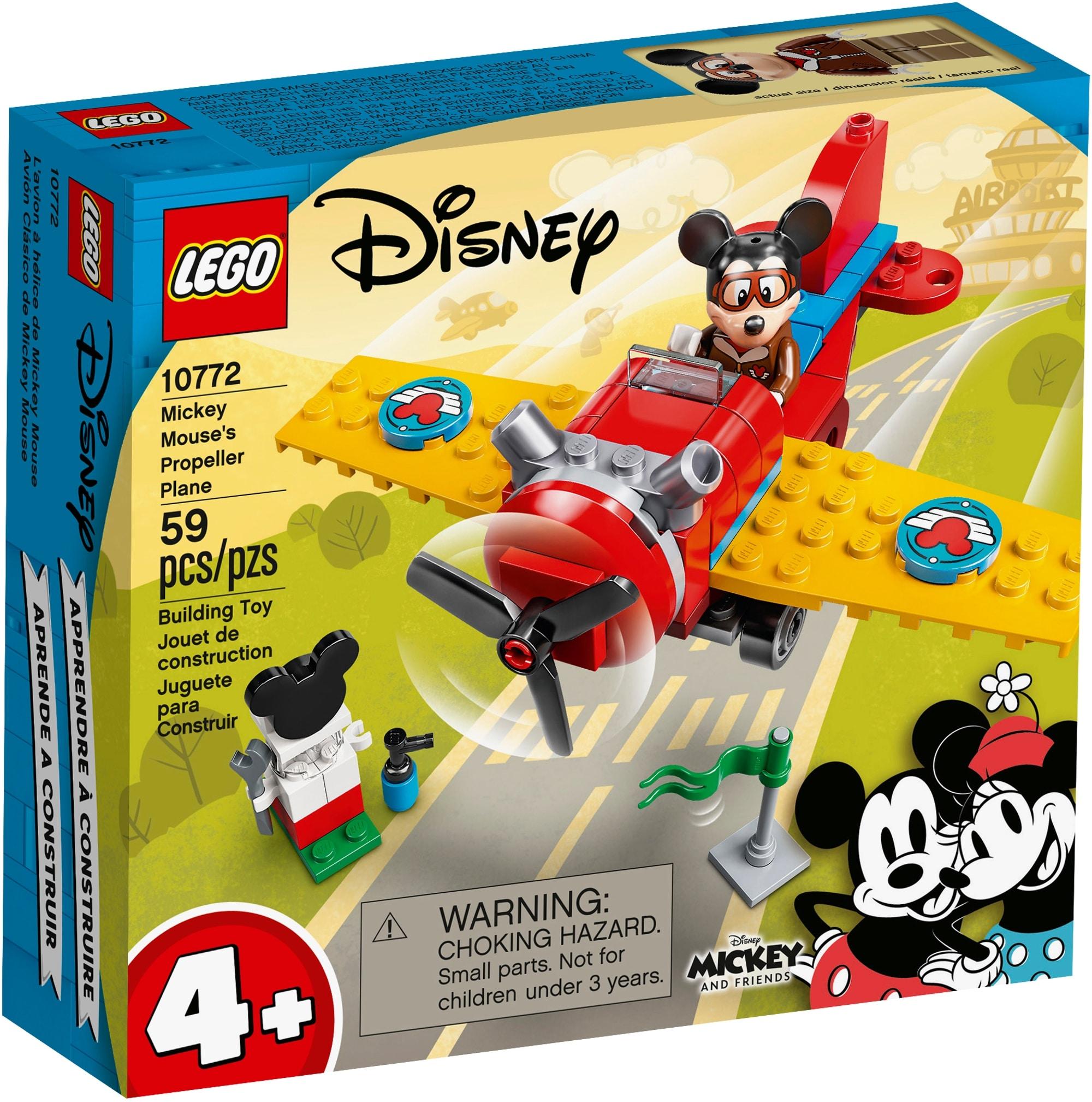 LEGO Disney 10772 Mickys Propellerflugzeug 2